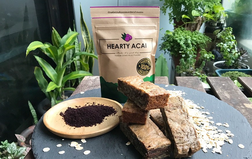 Hearty Acai Bars
